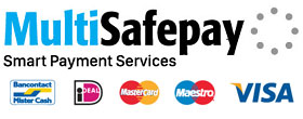 Safe payments processed by MultiSafePay